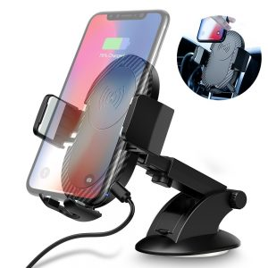 CarFly Car Phone Holder & Fast Wireless Charger