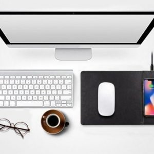 Smart Phone Qi Wireless Charging Mouse Pad