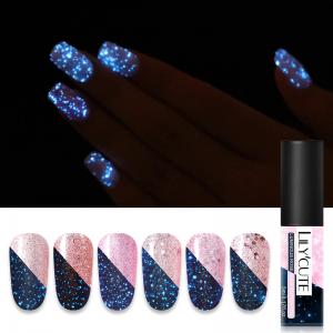 """Glow In The Dark"" UV Light Nail Polish"