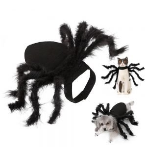 Halloween Spider Suit For Pets