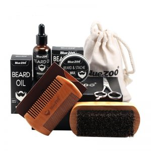 Blue Zoo Beard & Moustache Care Kit